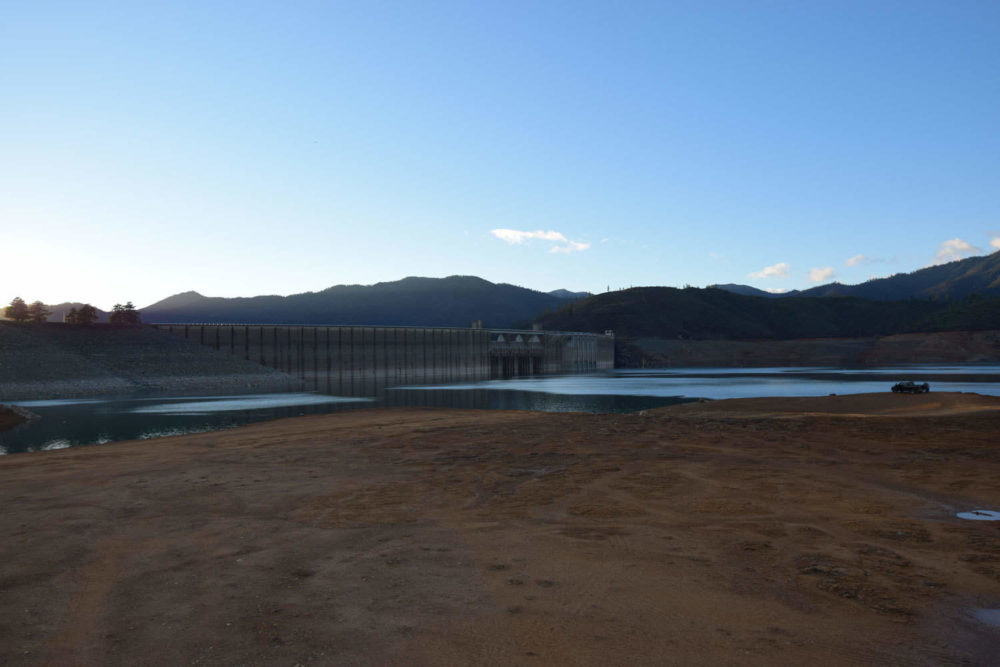 The Dam From the Lake Side