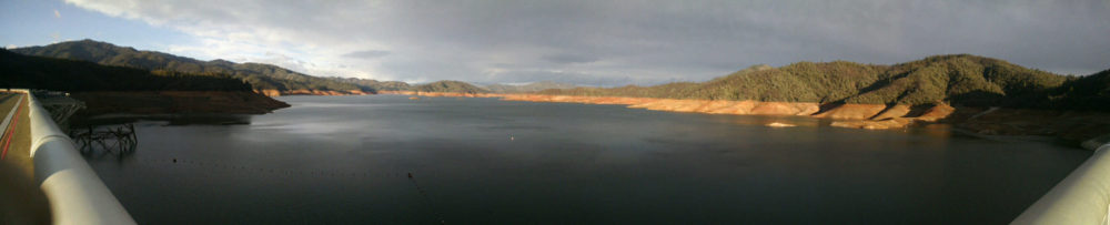 Lake Shasta Pano