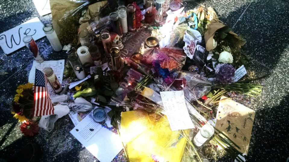 David Bowie Star Shrine