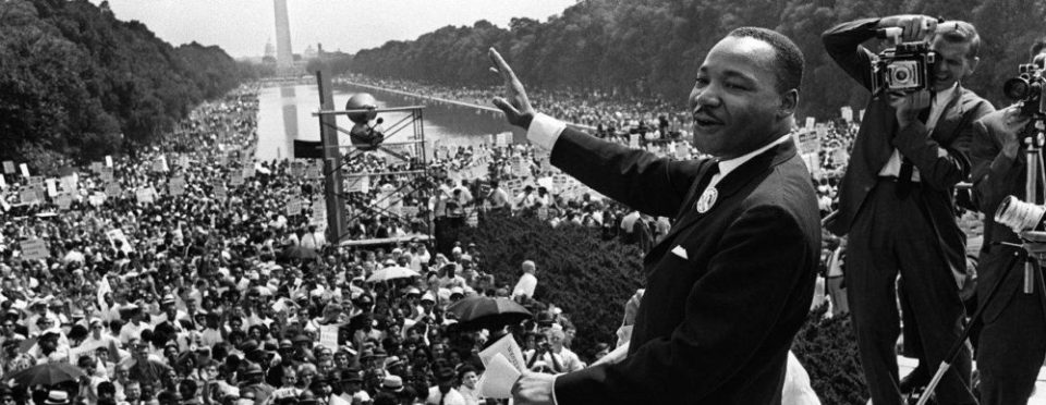 MLK's speech on the Washington mall