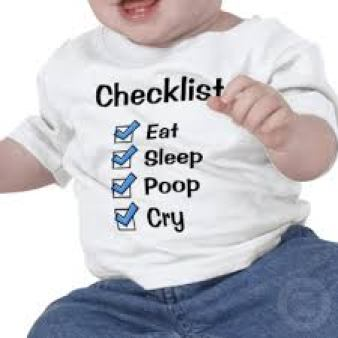 Its not easy to illustrate an article about checklists