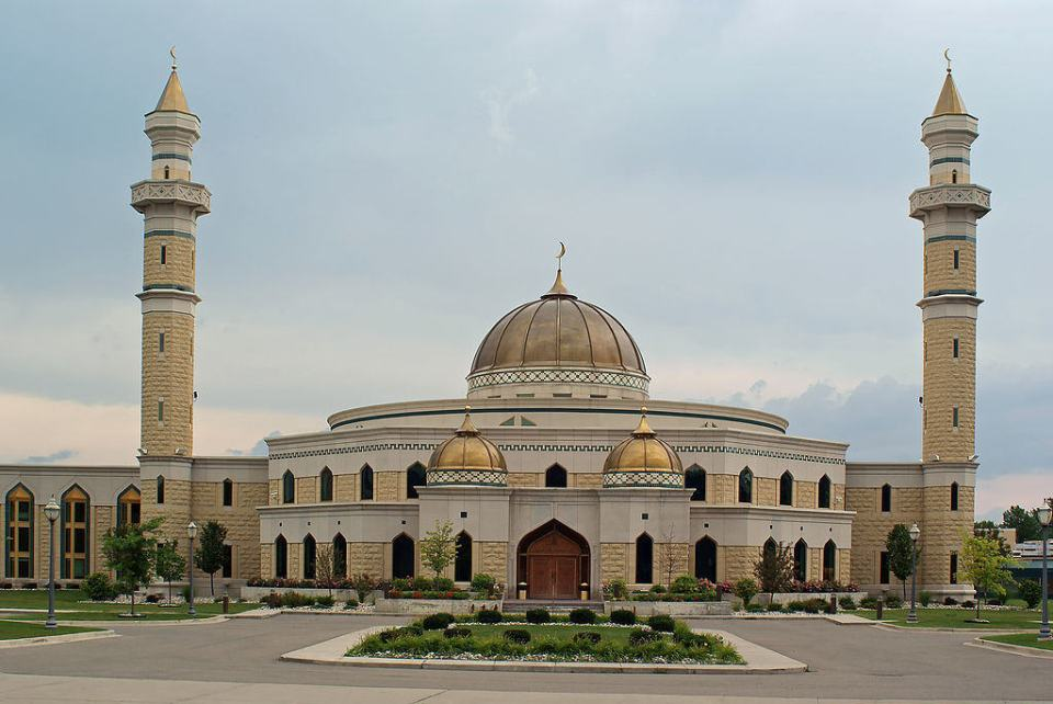 The Islamic Center of America. Courtesy of By Dane Hillard - originally uploaded to Flickr as Islamic Center of America, CC BY 2.0, https://commons.wikimedia.org/w/index.php?curid=8493981
