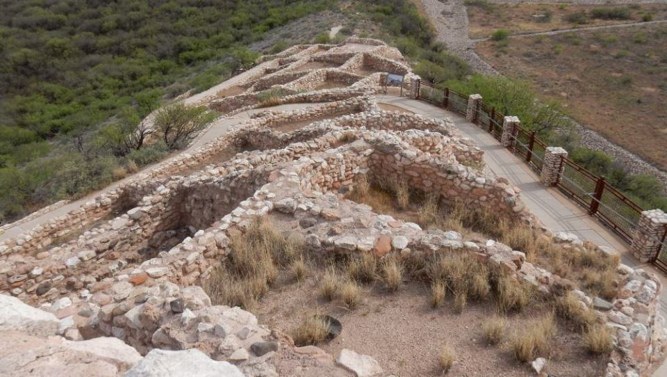 The view from the top of Tuzigoot.