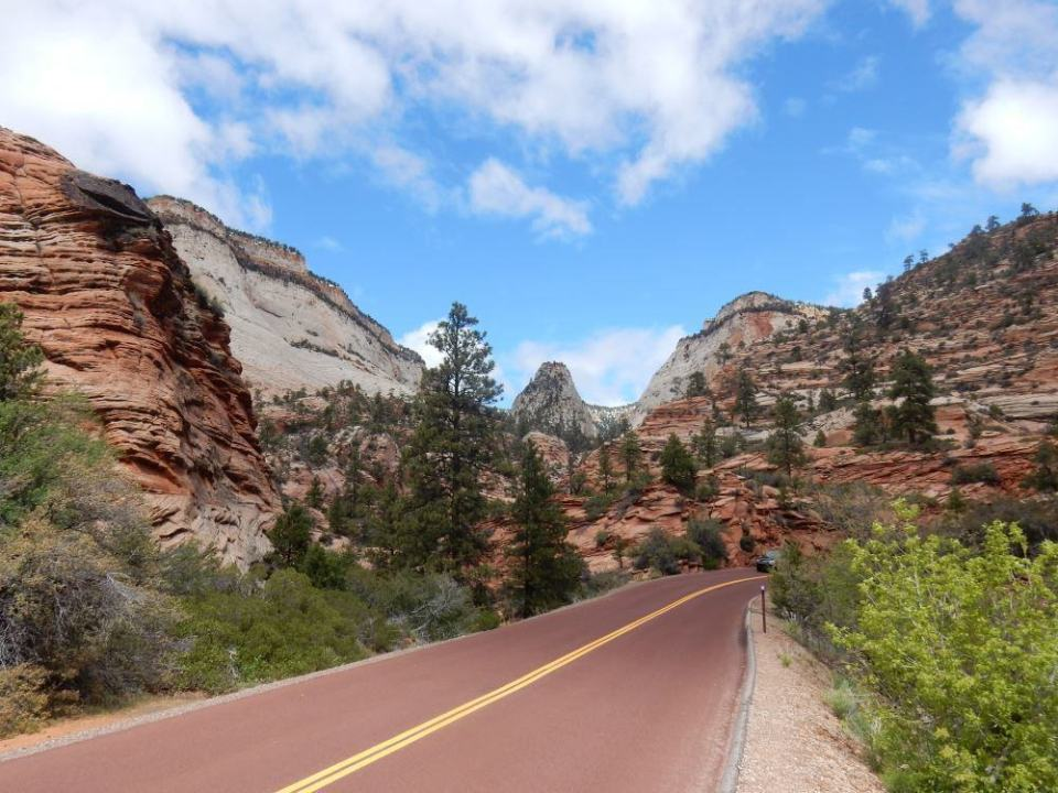 One of the greatest drives in the world: Zion East.