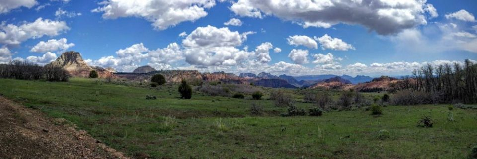 Kolob Terrace is the part of Zion National Park Less Traveled and Less Visited