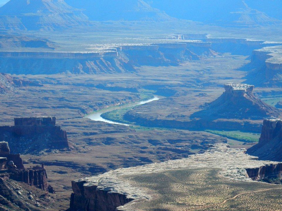 Green River from Island in the Sky