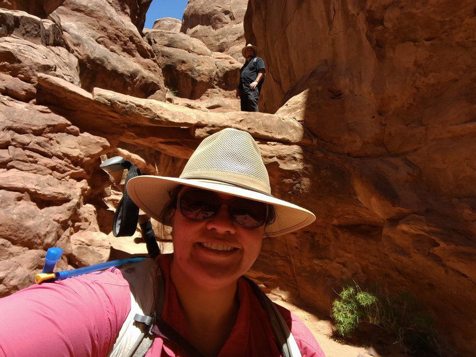 Us at the Fiery Furnace! Hot, but not as hot as hell!