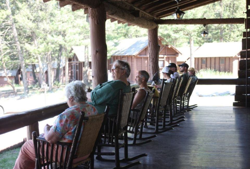 Roosevelt Lodge Rocking Chairs