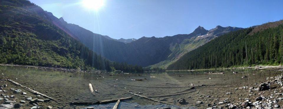 Avalanche Lake - Creek Outlet
