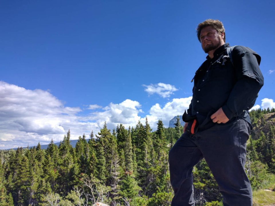 Hitch at Logan Pass