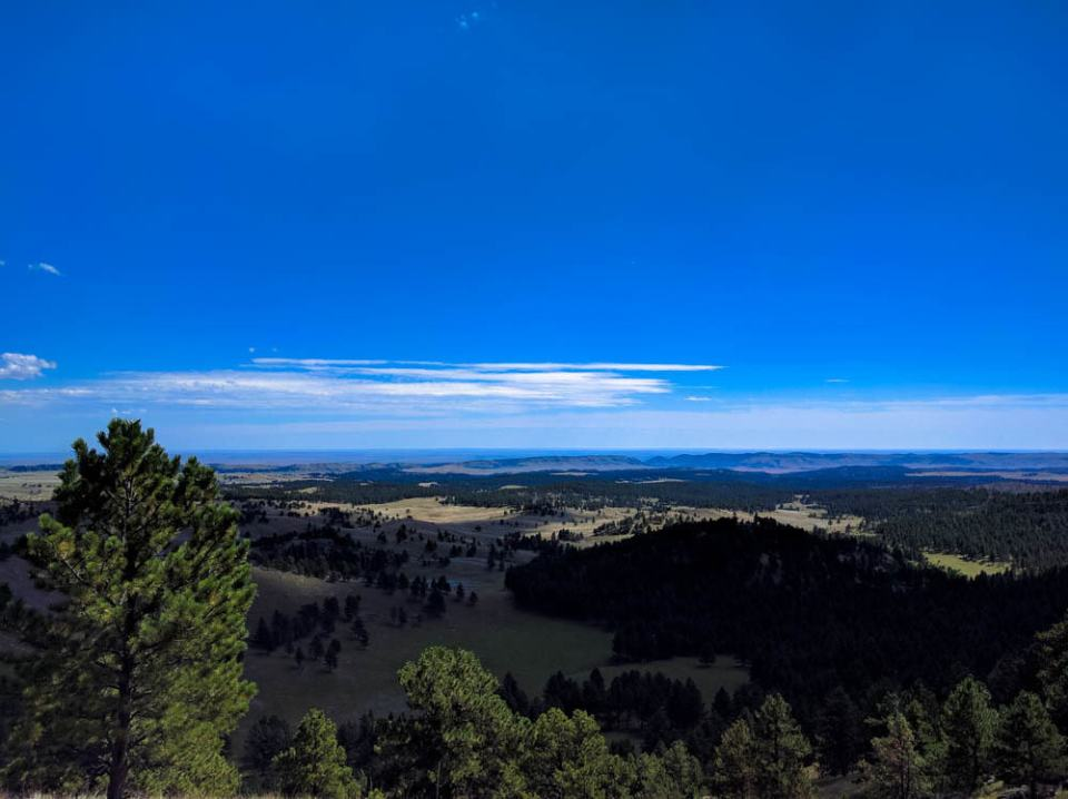 Another view of the Black Hills