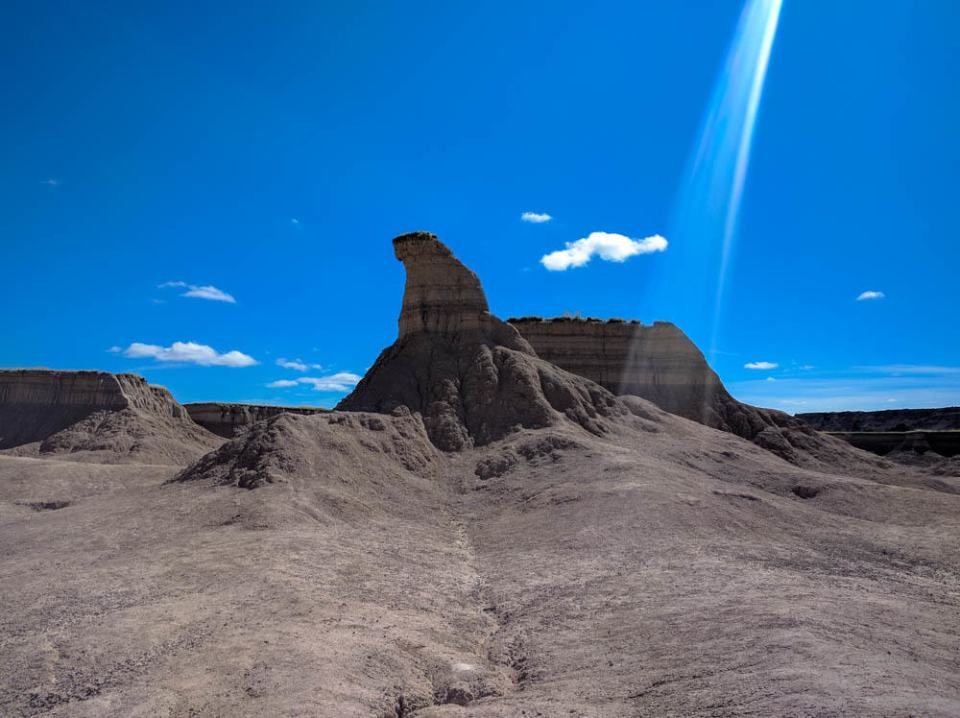 Badlands has some odd formations