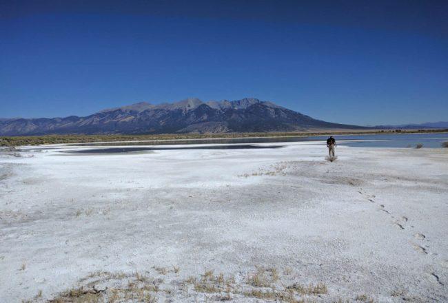 Blanca Wetlands White Playa