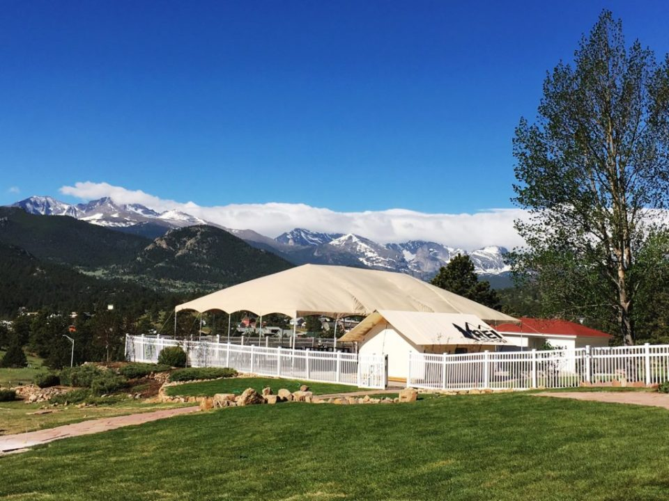Visit the Base Camp for whiskey, wine, smores, and Rocky Mountain Tours