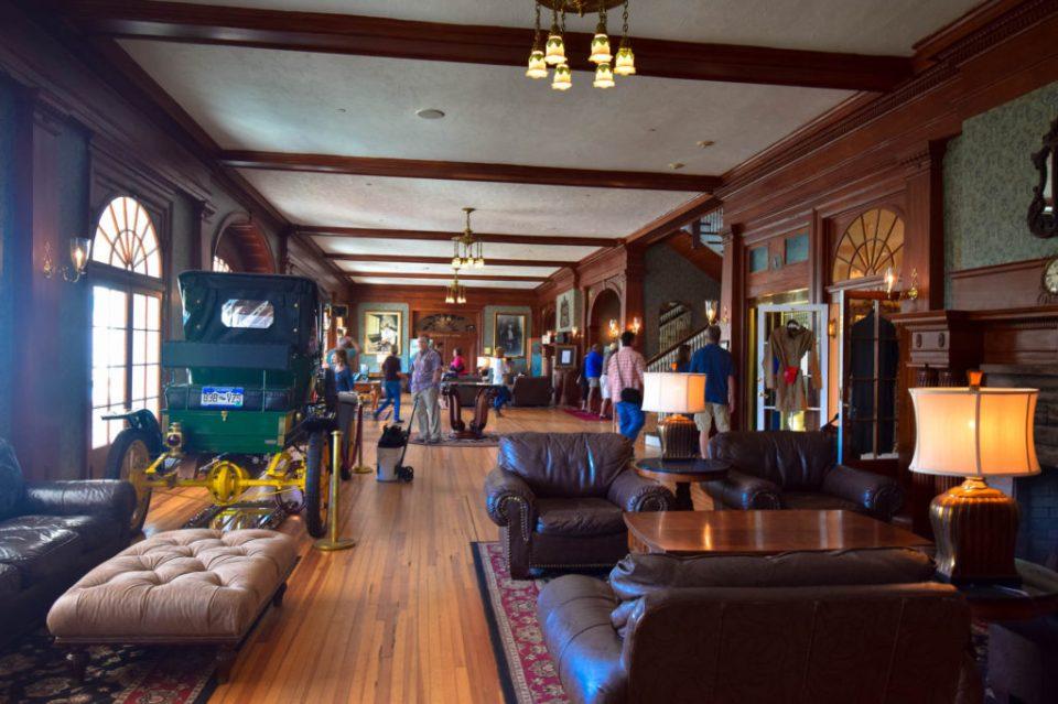 The Lobby looks cozy