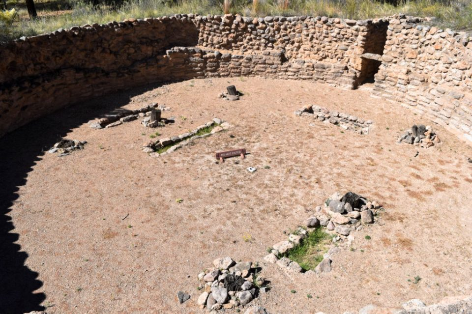 Big Kiva once had a roof covering it and was a communal meeting place