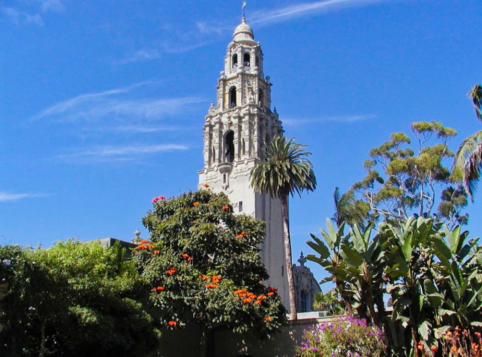 Balboa Park's California Tower