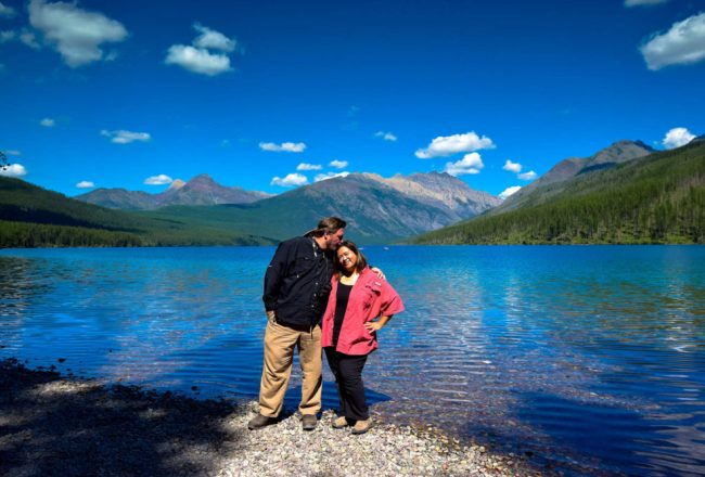 Us at Glacier National Park
