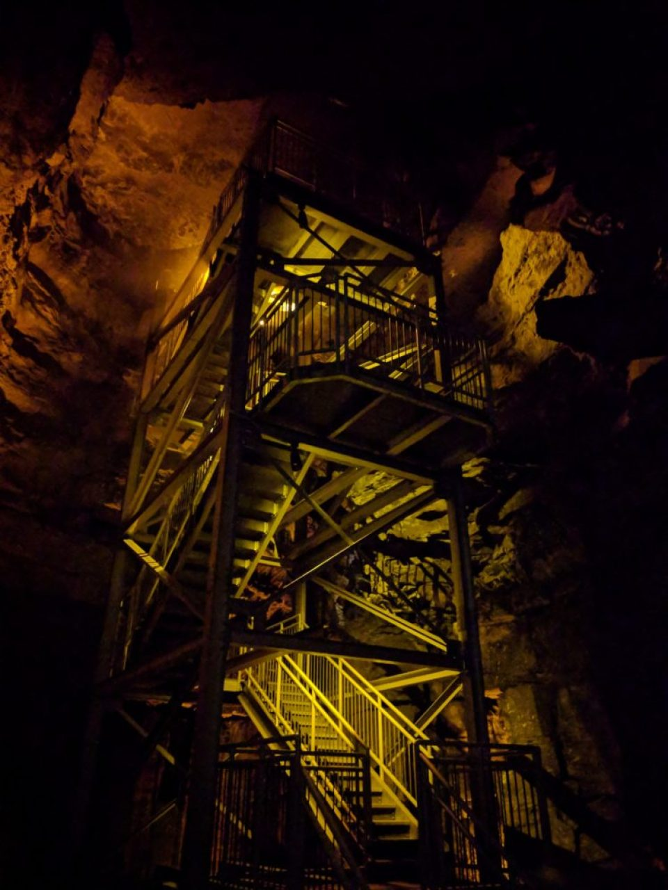 Up The Tower to Mammoth Dome