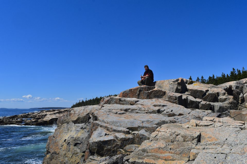 Schoodic Peninsula Of Acadia National Park The