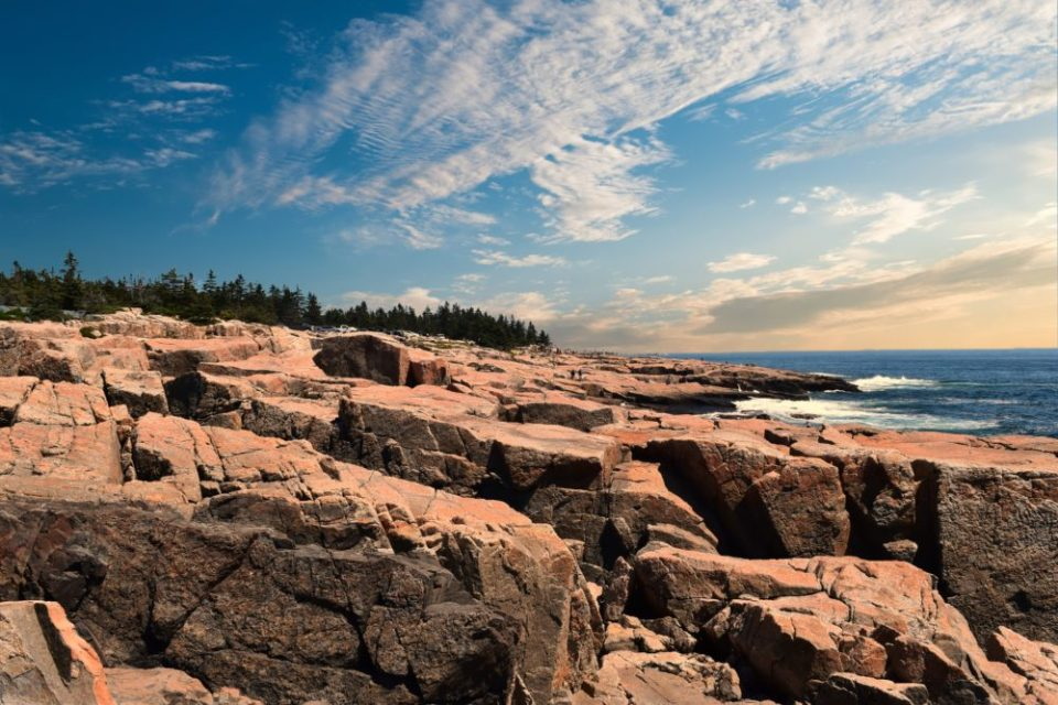 Granite Shoreline of Schoodic Point