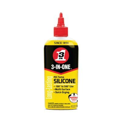 3-IN-ONE All-Temperature Silicone Drip Oil, 4 OZ