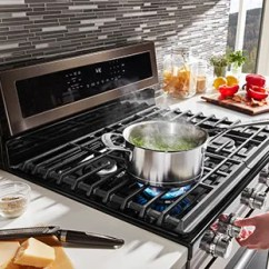 Kitchen Ranges Gas Home Depot Island View Our Products Cooking