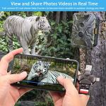 Trail Camera Viewer SD Card Reader, Memory Card Adapter 4 in 1 Compatible with iPhone, iPad, Mac, Android, Photo Video Viewer Portable for Wildlife Scouting Game Camera