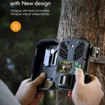 APEMAN Trail Camera 20MP 1080P Hunting Cameras, 40 PCs IR LED Vivid Night Visition Wildlife Camera, Game Camera for Home Security and Outdoor Nature Wild Scouting