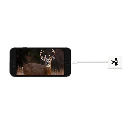 Common Hunter Iphone Trail Camera Viewer / Trail Camera Reader for Iphone 6, Iphone 6 plus, Iphone 5 or newer,This product DOES NOT work with IOS 10.3 or newer