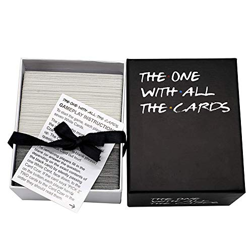 Interactive Strategy Board Game The One with All The Cards Against Family Friends Interactive Strategy Board Game Black