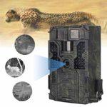Trail Game Camera ,Waterproof IP65 16MP HD Wildlife Hunting Camera with No Glow Infrared Night Version, PIR Sensor, 0.2S Trigger Speed, for Wildlife Monitoring, Hunter Recorder