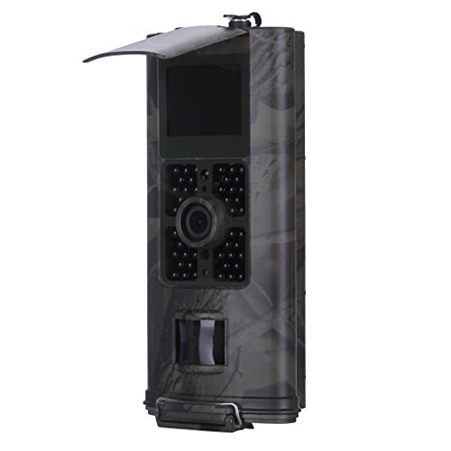 CUTICATE 16MP Waterproof Hunting Camera 1080P HD Adjustable Glow LED Trail Camera