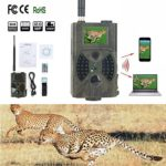 Jiaji Trail Camera with Night Vision Motion Activated, 1080P 12MP Hunting Cameras with Controller Suitable for Wildlife Monitoring and Home Security