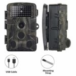RHG HC802A Trail Camera Hunting Game Camera,Wireless Surveillance Tracking Camera Fit for Outdoor Wildlife Animal Scouting and Home Security Surveillance