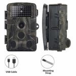 RHG Trail Camera 16MP 1080P Wireless Hunting Camera with Night Vision Motion Activated IP65 Waterproof 2.0 LCD for Outdoor Wildlife, Garden, Animal Scouting and Home Security Surveillance