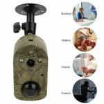 Alomejor Trail Camera Hunting Camera Infrared PIR Motion Sensor Wildlife Video Surveillanc for Outdoor Wildlife Watching