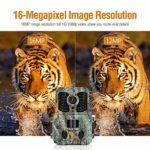 Clobo Trail Camera, 16MP 1080P Waterproof Wildlife Scouting Hunting Camera with 120°Wide Angle Lens,0.2s Trigger Speed,2.4″ LCD and 48 IR LEDs, IP65 Game Camera