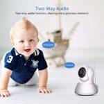 Home Security IP Camera Wi-Fi 1080P 720P Wireless Network Camera CCTV Camera Surveillance P2P Night Vision Baby Monitor (Plug Type : UK Plug, Sensor Size : 1080P Add 64G Card)