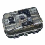 KTYX LCamera 12MP 1080P Wildlife Camera, Night Detection Game Camera with No Glow IR LEDs, Time Lapse, Timer, IP66 Waterproof Design Hunting Camera