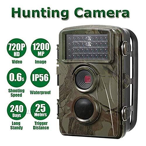 QARYYQ Hunting Camera Game Camera 12 Million Infrared Night Vision Waterproof HD Surveillance Camera Wildlife Reconnaissance Camera Wild Animal Camera