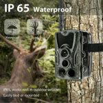 ROMIX Scout Guard Camouflage 4G LTE Hunting Camera 16Mp 1080P Three Infrared Sensors 4G Trail Cameras for Hunting
