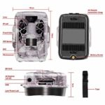 Temzon Trail Camera Full HD 12MP 1080P Hunting Game Camera,Motion Activated Night Vision, Waterproof Scouting Cam Wireless Video Camera for Outdoor Wildlife Monitoring/Home Security