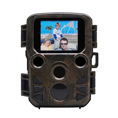 Yardwe 1080P Waterproof Hunting Game Camera Night Vision Camera for Outdoor Wildlife Monitoring (H501, Without Battery)