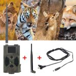 YTFU Trail Game Camera 12MP,1080P Full HD Hunting Camera with Wide Angle Night Vision Motion Activated,2.0 Waterproof LCD for Wildlife Monitoring
