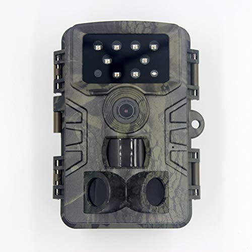 zuoshini Trail Camera Trail Game Camera with Night Vision Motion Activated Waterproof 20MP 1080P HD Game Camera Waterproof Wildlife Scouting Cam with Night Vision 82ft / 25m