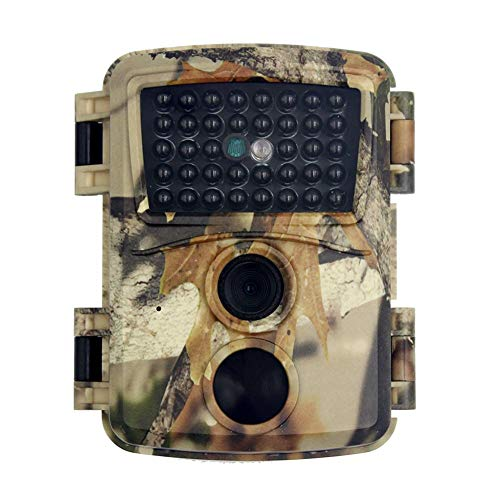 Fulstarshop 12MP 1080P Trail Camera with Night Vision Waterproof Wildlife Infrared Sensors 90°Detecting Range Outdoor Motion Activated Trail Camera Game Scouting Cam