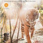 APEMAN Mini Trail Camera 16MP 1080P Waterproof Night Vision Game Camera for Wildlife Detecting, Home Security