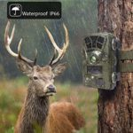 Ctronics Trail Camera WiFi 4K, 20MP Hunting Camera Wildlife Game Camera with 3 Infrared Sensors120° Wide Angle Motion Activated Night Vision for Wildlife Monitoring Hunting