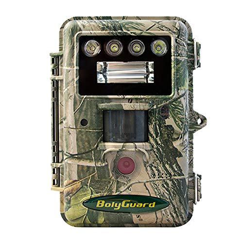 BolyGuard Trail Game Camera, 36MP Hunting Scouting Camera 1080P Full HD Video with Night Vision IR no Glow, 2″ LCD Full Colors Image & Videos IP66 Waterproof